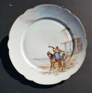 Porcelain Ceramic Platter with Horse