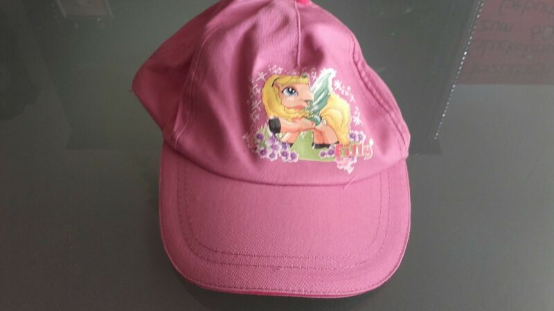 """filly"" Mädchen-kappe / Farbe: Rosa / Gr.: 52-54 Cm / Verstellbar / Wn"