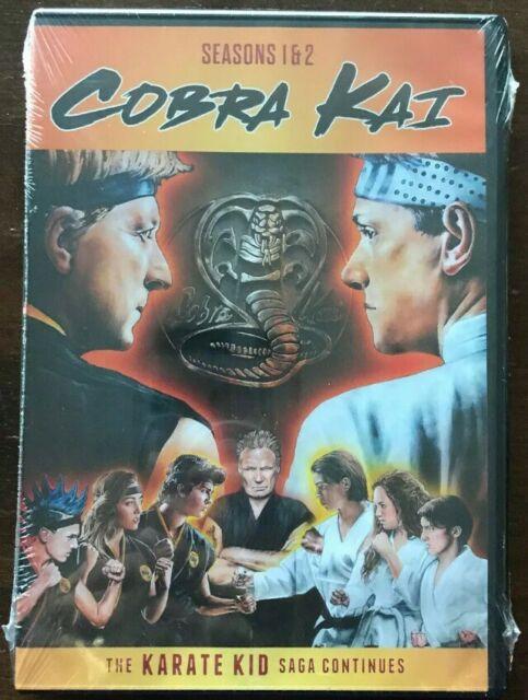 COBRA KAI Season 1 & 2 The KARATE KID Saga Continues  BRAND NEW DVD REGION 1