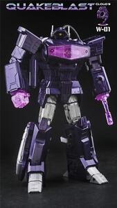 New Cloud 9 Toy Transformers W-01 QuakeBlast Shockwave Figure