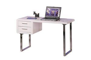 Simona scrivania moderna bianca modelli per soggiorno ufficio