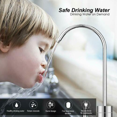 Faucet For 5//6//7 Stage Undersink Reverse Osmosis Water Filtration System