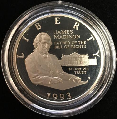 1993-S 50c Bill of Rights Modern Commemorative Silver Half Dollar Proof