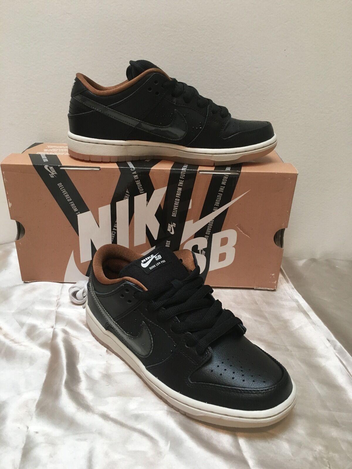 Nike e basso basso basso premio sb qs nero / osso pioggia nera gli uomini dimensioni 7,5 nuovi 504750 011 ff71c0