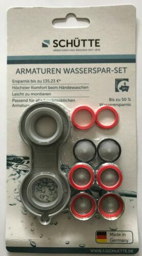 Montageschlüssel SCHÜTTE 11-Teilig Perlatoren Wasserspar-Set Mischdüsen inkl