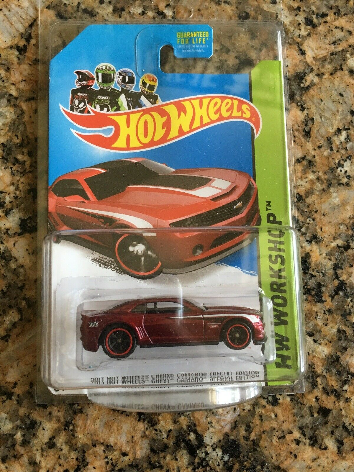 Hot Wheels Chevy Camaro Special Edition Super Treasure Hunt