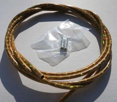 Außenzug Bowden Glitter Oro 2,50 M 5 Mm- Luminoso A Colori