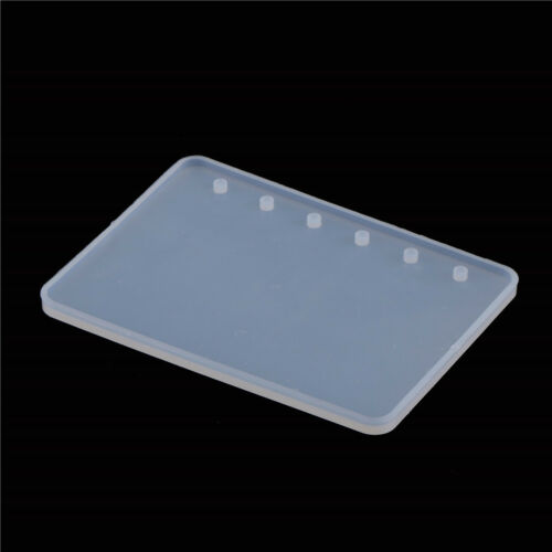 A7//A6//A5 Notebook Shape Silicone Mold DIY Resin Book Moulds Crystals Epoxy Molds