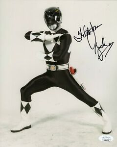 Walter-Jones-Autograph-Signed-8x10-Photo-Power-Rangers-034-Zack-034-JSA-COA