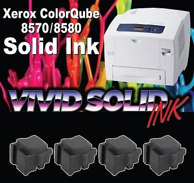 108R00929 108R00930 Genuine ColorQube 8570//8580 Black Solid Ink Pack 2 Sticks