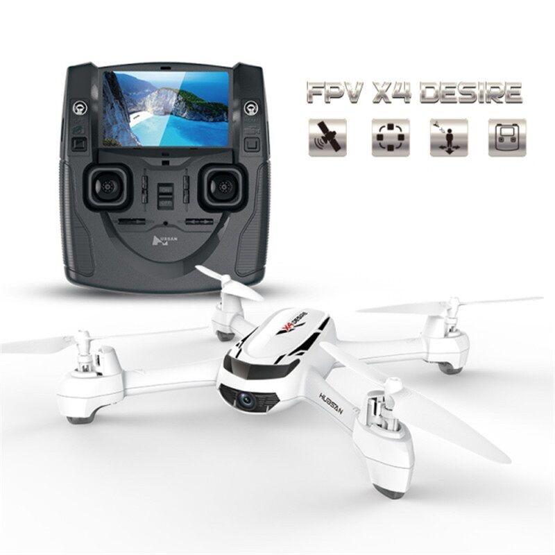 RC Drone con Cámara FPV 720P HD Hubsan GPS Cuadricóptero Modo de altitud retorno sin cabeza