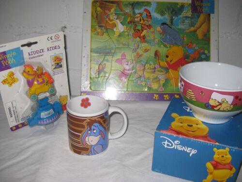 Tasse,Schale,Puzzle,Auto, Film- & TV-Spielzeug 5er Geschenkeset von Winnie the Pooh  von Disney
