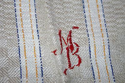 Gastfreundlich Vintage 2x Arbeits- Handtuch Wischtuch Küchentuch Einwebmuster Mon. Mb 45x105 Cm