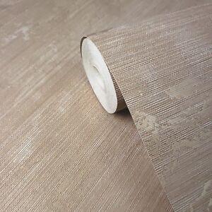 Wallpaper-ginger-gold-metallic-Textured-Plain-faux-grasscloth-horizontal-lines