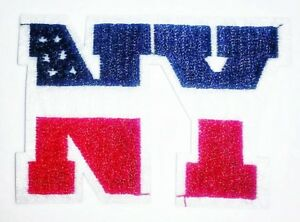 Ny new york patch th of july usa embroidered sew iron on