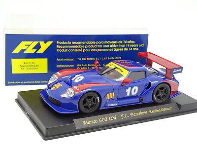 Smart Fly Slot Car 1/32 Elektrisches Spielzeug Spielzeug Marcos 600 Lm Fc Barcelona