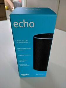 BRAND-NEW-Amazon-Echo-2nd-generation-Charcoal-Fabric-BOXED-SEALED