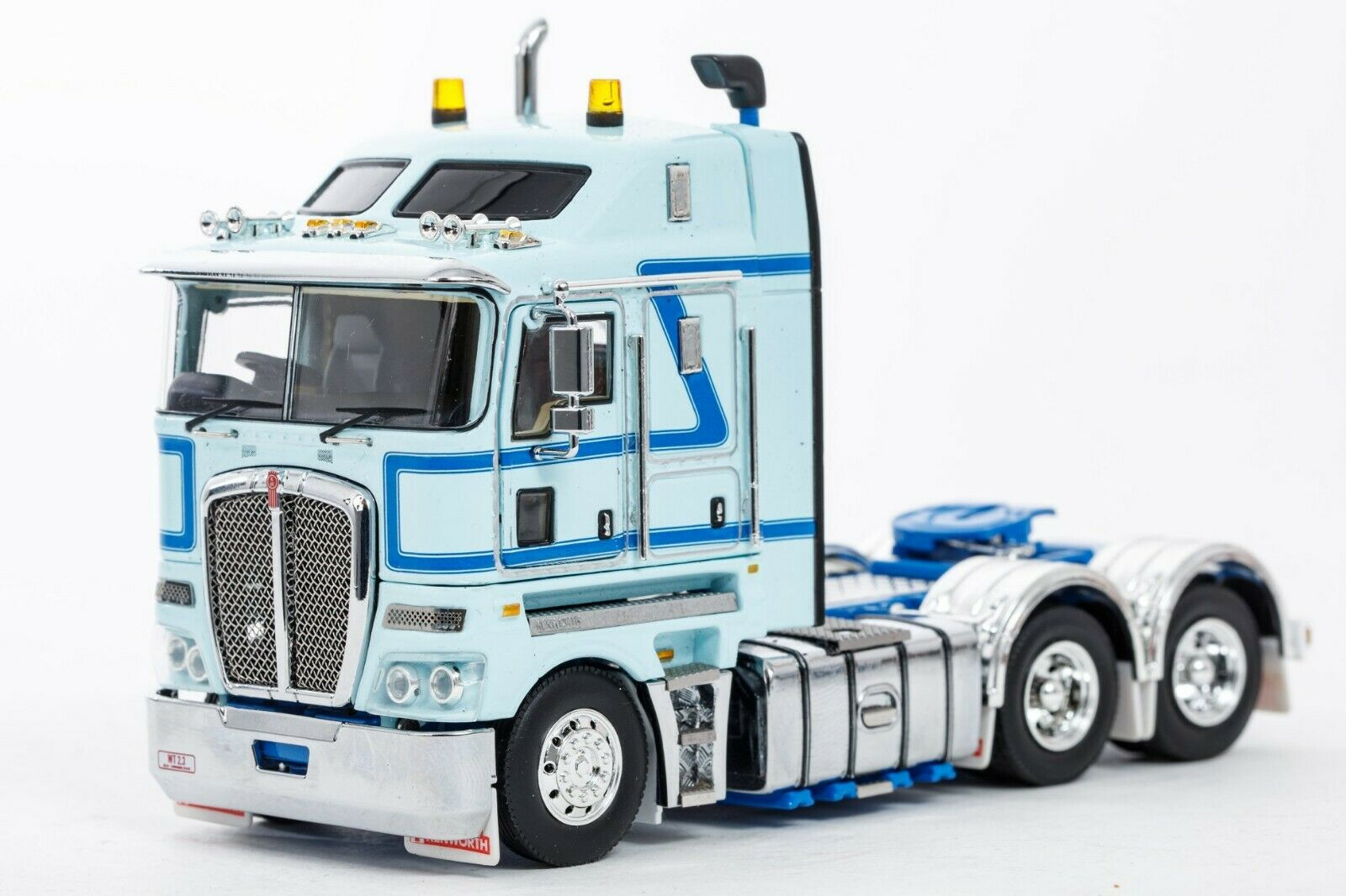 Kenworth K200 K200 K200 2.3 Cab Prime Mover Truck Light Blau Drake e13
