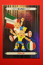 Panini EURO 2012 N. 310 ITALIA MASCOTTE NEW With BLACK BACK TOPMINT!!