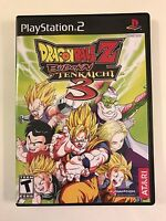 Dragonball Z Budokai Tenkaichi 3 - Playstation 2 - Replacement Case - No Game