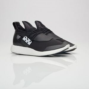 promo code 6a6aa 7a939 Image is loading Adidas-Y-3-Elle-Run-Black-BY2565-Women-