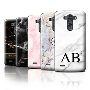 watch 9b0ce 8ab4b Details about Personalised Marble Case for LG  G3/D850/D855/Text/Name/Initial Custom DIY Cover