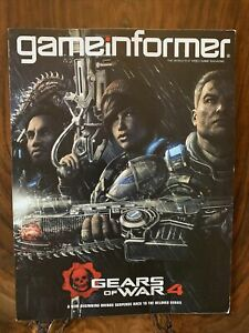 GAME INFORMER MAGAZINE Issue# 276 APRIL 2016 GEARS OF WAR 4