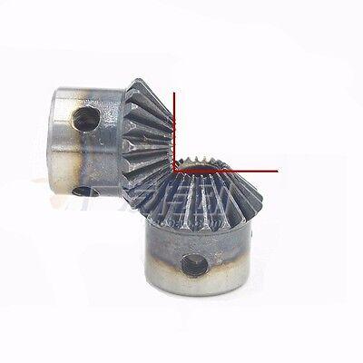 Bevel Gear 1.0 Module 20 Tooth 90 ° Pairing Bore 5/6/6.35/8mm Gear Bevel Gear