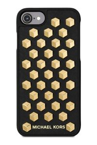 193df0904de5 Michael Kors iphone 8 7 Phone Case Cover Saffiano Leather Faceted ...