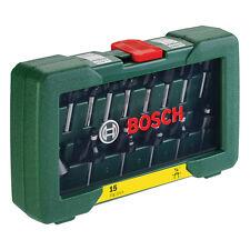 BOSCH 15 BIT Router Set POF 1200 POF 1400 DIY Routers 2607019468 3165140415866 V