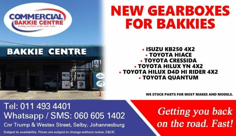 Gearboxes For Most Bakkie Makes and Models For Sale