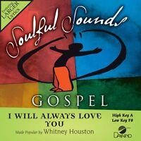 Whitney Houston - I Will Always Love You - Accompaniment Cd