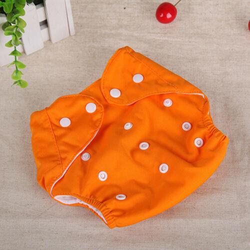 Baby kids Newborn Reusable Nappies Adjustable Diaper Washable Cloth Diaper Short