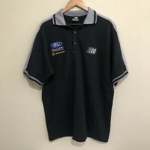 Ford-Mobil-Dunlop-00-Merchandise-Racing-Polo-Shirt-Mens-2XL-XXL