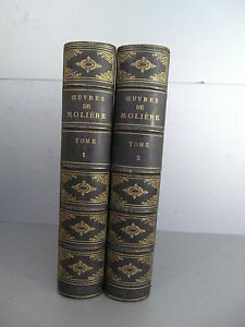 Molieres-les-oeuvres-Complet-fines-gravures-Horace-Vernet-Furne-1880