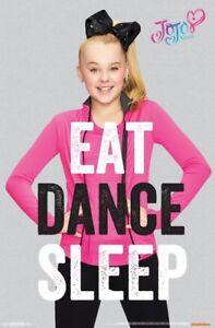 1ee9c3814f591 JoJo Siwa (Big Bow) - Eat Dance Sleep POSTER 61x91cm NEW ...