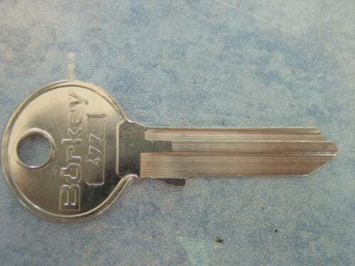 477 Mercedes 180 Ponton Schlüsselrohling W 120 1953-61 Nr