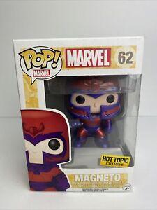 Funko Pop! Marvel X-Men  #62 Magneto Metallic Vaulted Vinyl Bobble-Head