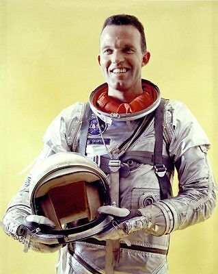 Dynamic Mercury Astronaut Gordon Cooper Portrait 11x14 Silver Halide Photo Print Comfortable Feel