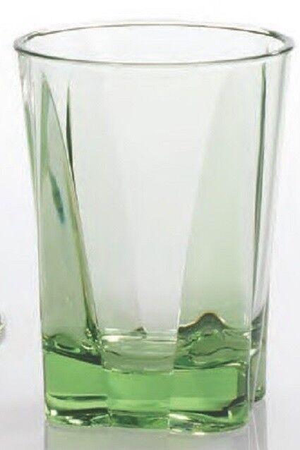 MERRITT CRYSTAL CELADON 14 OZ ACRYLIC TUMBLER SET OF SIX - OUTDOOR GLASSES