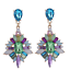 Fashion-Women-Colorful-Rhinestone-Resin-Ear-Stud-Drop-Dangle-Earrings-Jewelry thumbnail 1