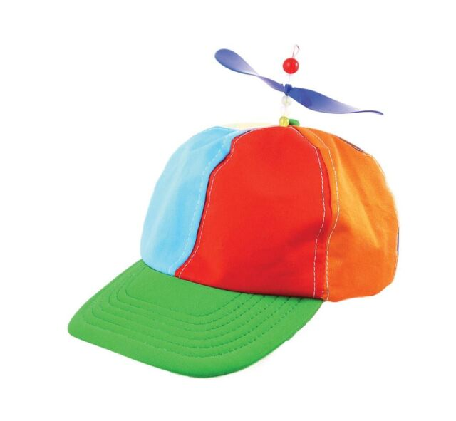 Helicopter Clown Hat, Fancy Dress Accessory #AU