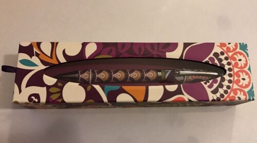 New In Gift Box Retired Vera Bradley Ball Point Pen in Plum Crazy