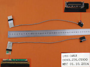 Lenovo-Z580-amp-Z585-LCD-LED-Video-Screen-Cable-with-P-No-DD0LZ3LC030-DD0LZ3LC000