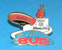Atlanta 1996 Olympic Collectible Sponsor Pin - Budweiser Blimp