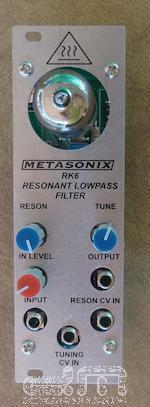 Metasonix RK6 Lowpass Filter   Eurorack Module   NEW