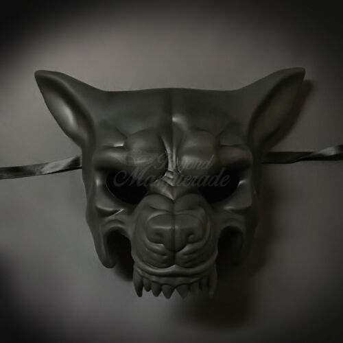 Men/'s Costume Halloween Masquerade Mask Wolf Animal Masquerade Mask