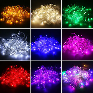 10M-50M-100M-In-Outdoor-Garden-Decoration-Party-Wedding-LED-String-Fairy-Lights