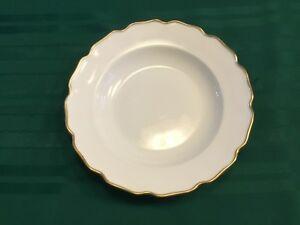 Nymphenburg-White-w-gold-scalloped-trim-9-5-Round-Bowl-Dish