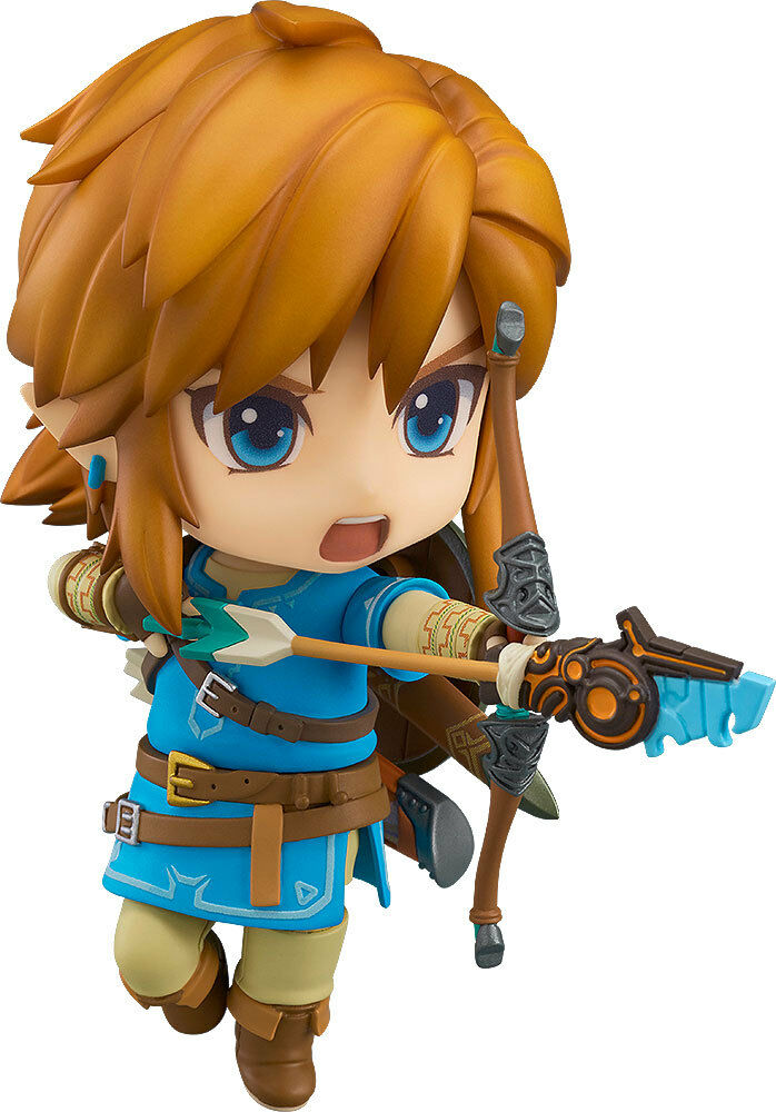 ACTION-FIGUR ZELDA BREATH OF THE THE THE 10 CM WILD LINK NENDGoldID THE LEGEND OF GAME 1 4d3bee
